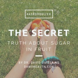 The Secret Truth About Sugar in Fruit
