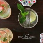 Sugar Free Fresh Mint Mojitos & Skinny Moscow Mule