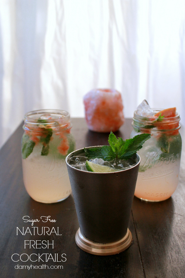 Sugar Free Fresh Mint & Lime Mojitos