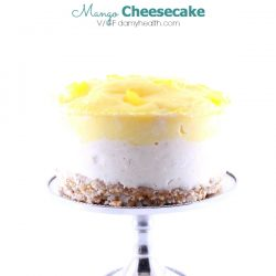 Coconut Cream & Mango Cheesecake