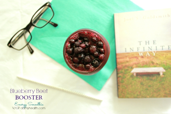Blueberry Beet Booster - Energy Smoothie