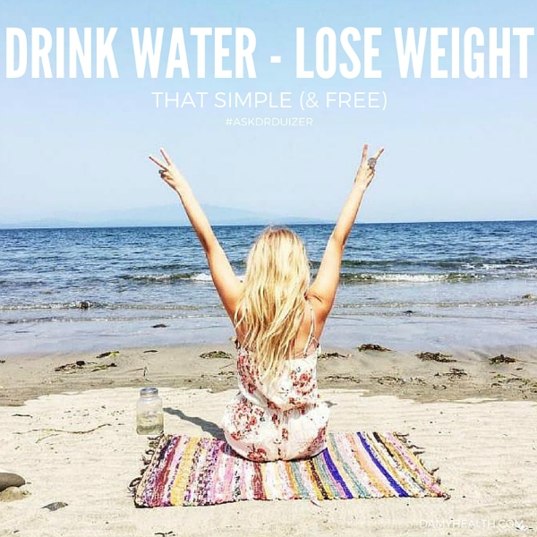 Drink Water – Lose Weight. That Simple (& Free)