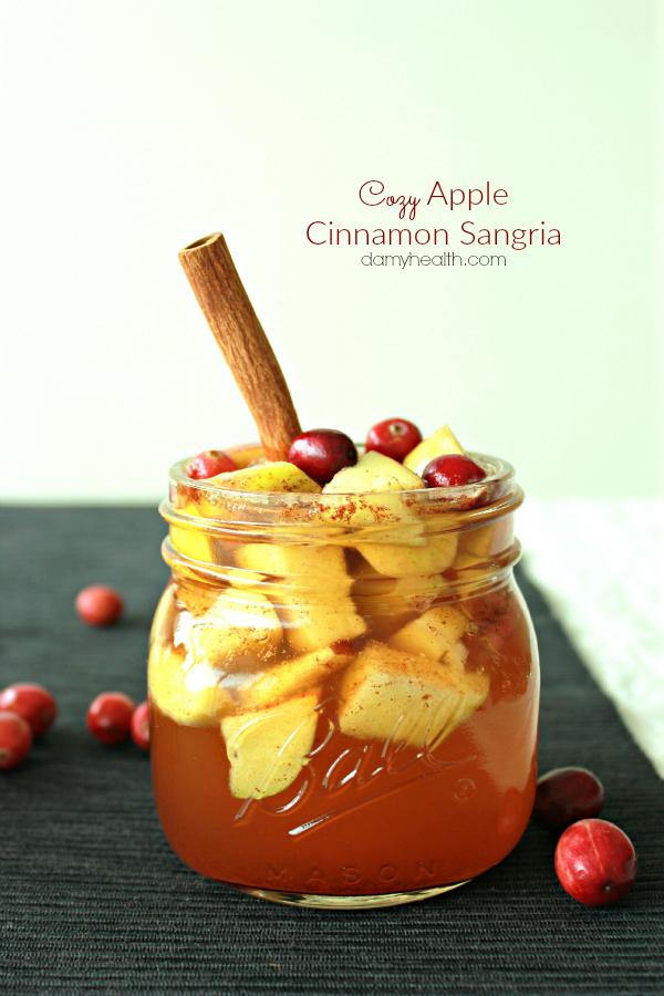 Fall Apple Cinnamon Sangria