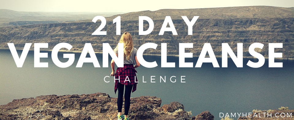 21 Vegan Cleanse Header