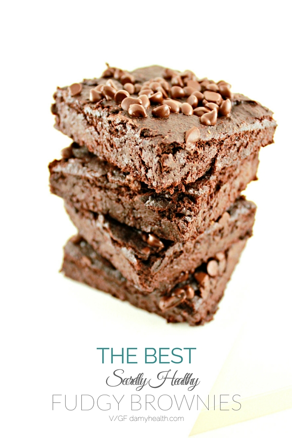 The Best Secretly Healthy Fudgy Brownies