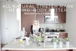 STRETCH MARK HEALING BODY BUTTER