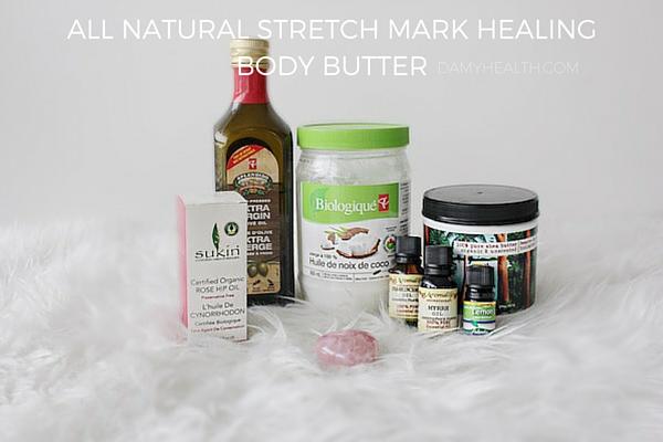 All Natural Stretch Mark Healing Body Butter