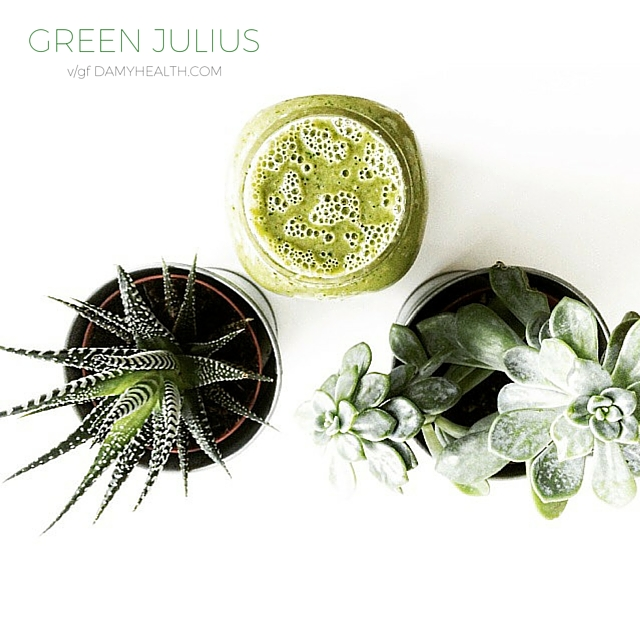 Green Julius (Healthy Orange Julius)