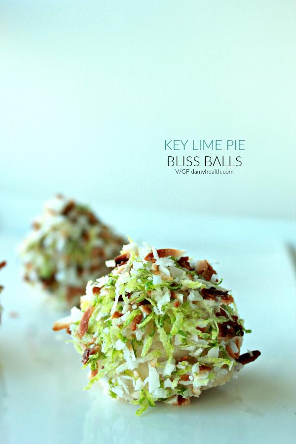 Vegan Keylime Cheesecake balls