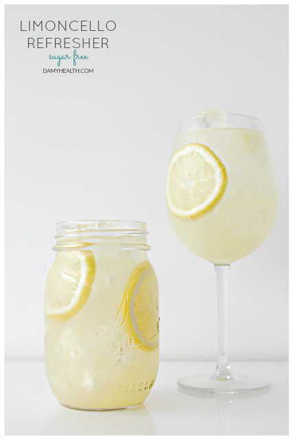 Sugar Free Limoncello Refresher
