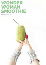 wonder woman smoothie