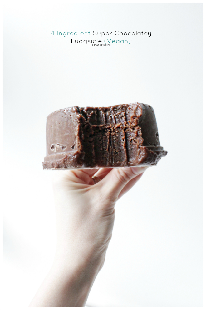 My Super Chocolatey Fudgsicle Vegan