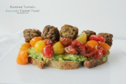 Roasted Falafel Toast