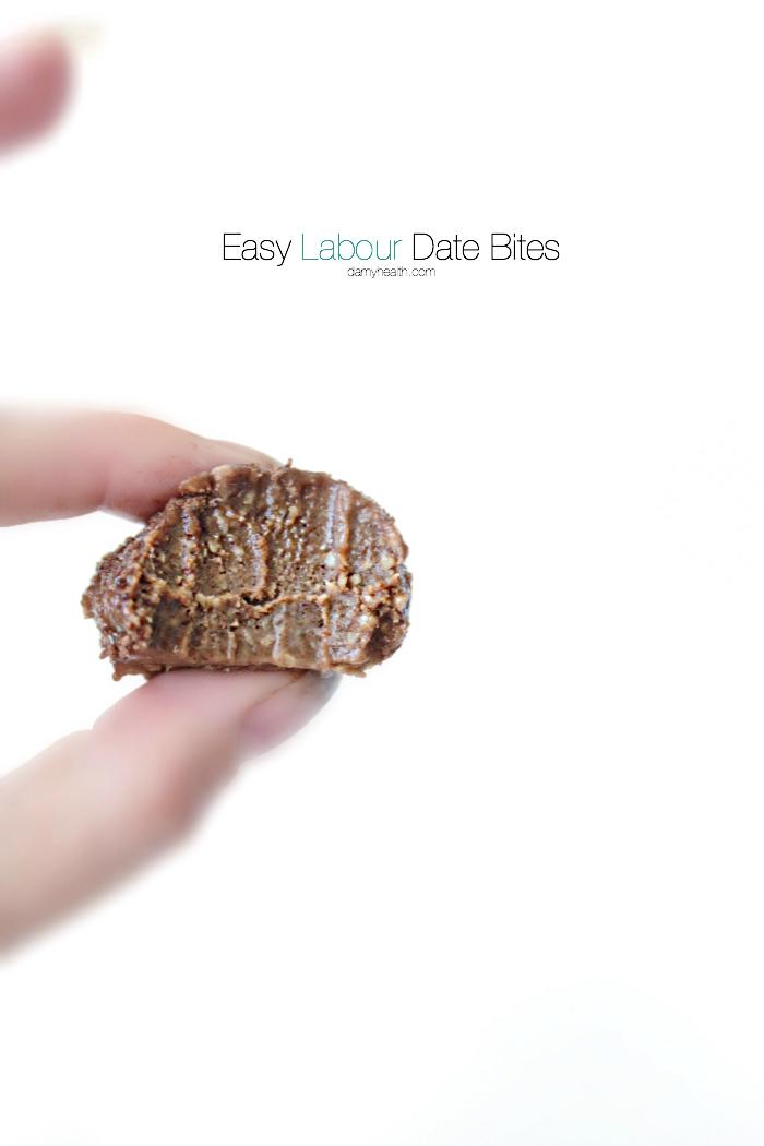 Easy Labour Date Bites
