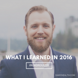 Dr. Duizer What I learned in 2016