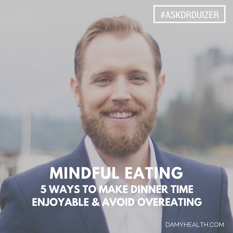mindful eating avoid overeating