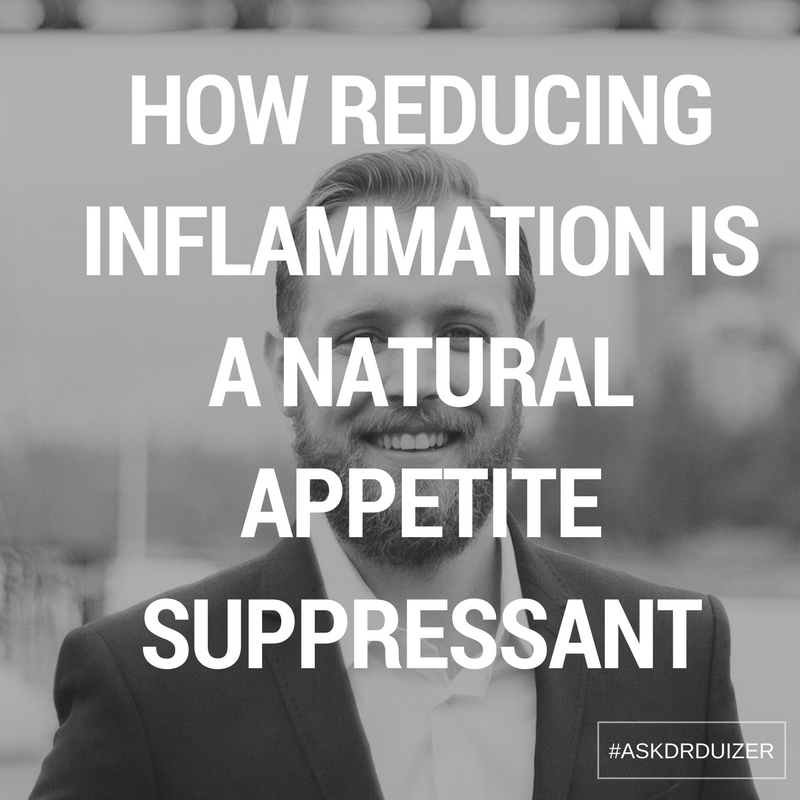 How reducing inflammation is a natural appetite suppressant