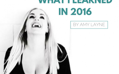 What I learned in 2016 – Amy Layne Edition
