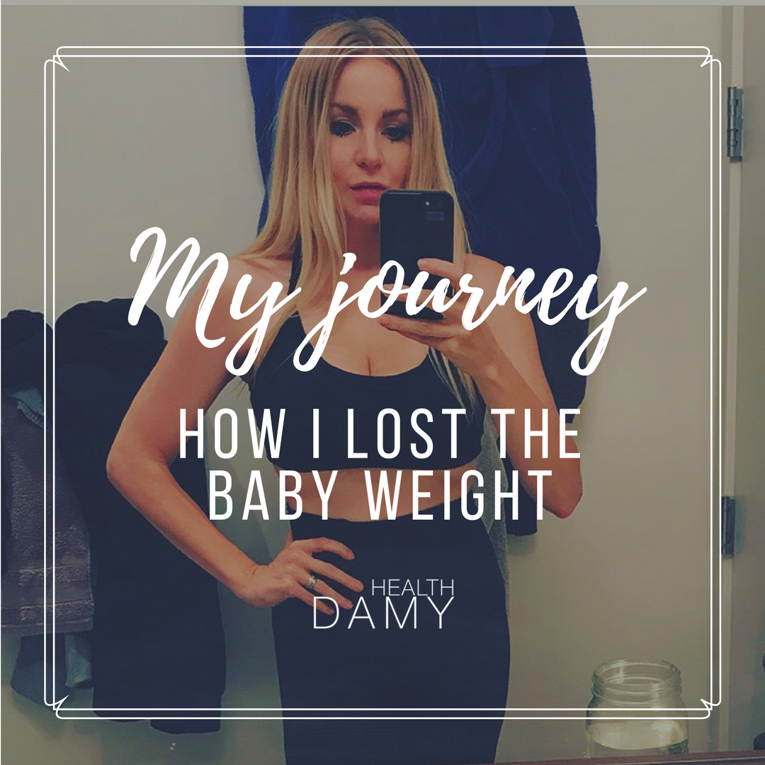 How I dropped the baby weight – an interview with Amy Layne