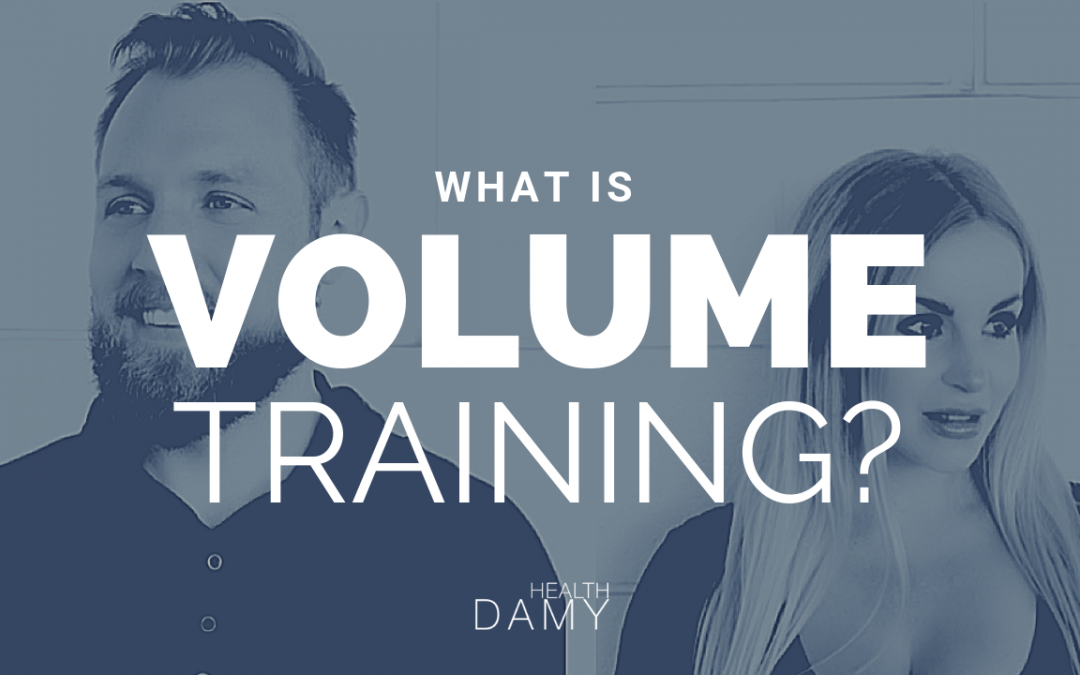 What is volume training and how can it help my weight loss journey?
